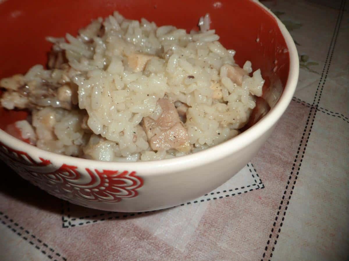 Курица рис рецепт с пошагово